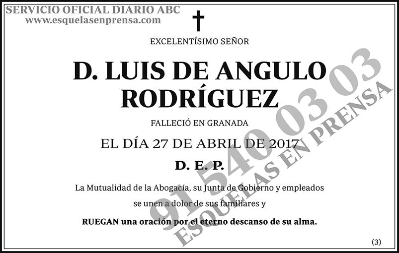 Luis de Angulo Rodríguez